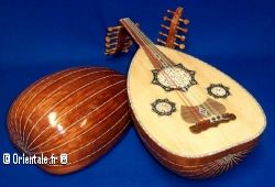 Guitares andalouses, ouds