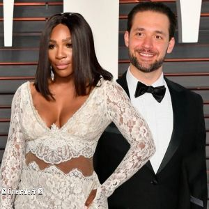 Alexis Ohanian et Serena Williams