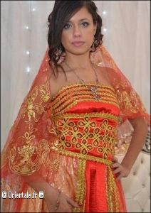 Kabyle robe orange