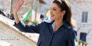 Portrait De Rania De Jordanie Orientale Fr